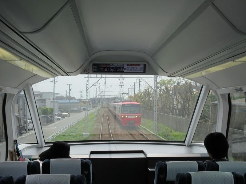 2021.4.8 (66) 豊橋いき特急 - 国府小田渕間(岐阜いき特急) 1600-1200
