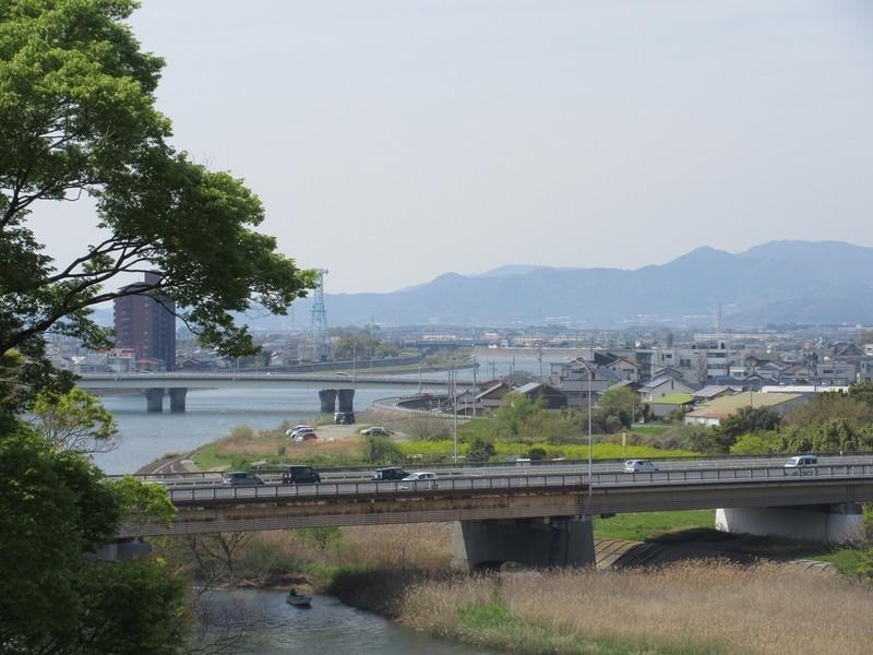 2021.4.8 (85) 吉田城 - 鉄櫓からのながめ 1600-1200