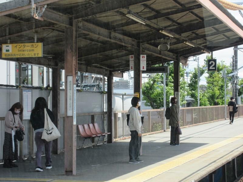 2021.4.14 (3) 東岡崎いきふつう - 岡崎公園前 1600-1200