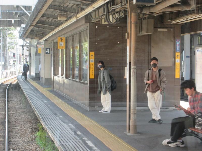 2021.4.14 (5) 東岡崎いきふつう - 東岡崎 2000-1500