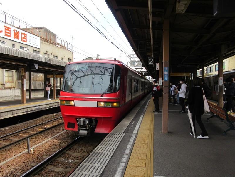 2021.4.14 (15) 東岡崎 - 岐阜いき特急 1970-1480