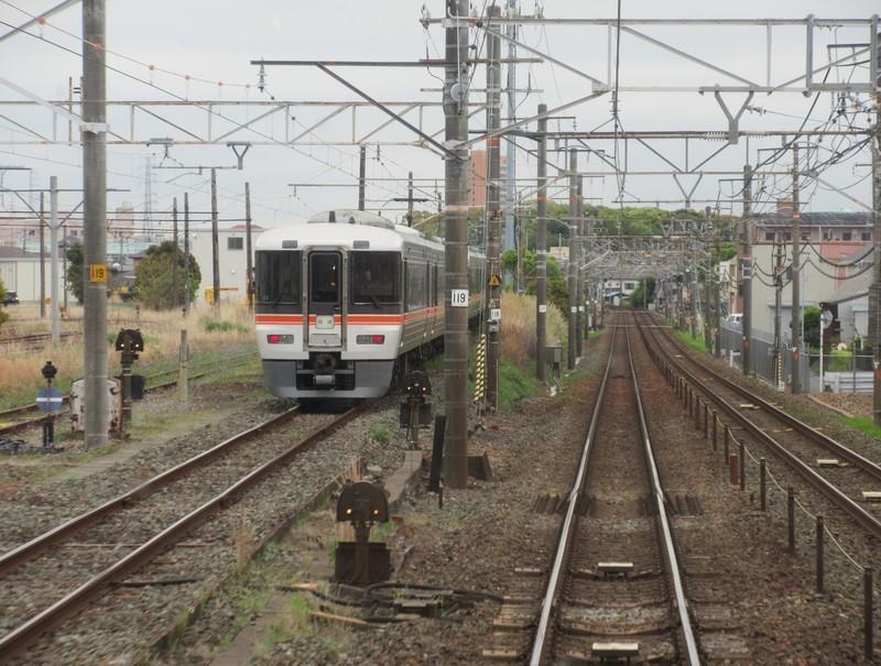 2021.4.15 (14) 浜松いきふつう - 豊橋二川間(回送特急) 1560-1180
