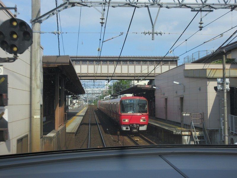 2021.6.14 (68) 豊橋いき特急 - 左京山(犬山いきふつう) 1600-1200