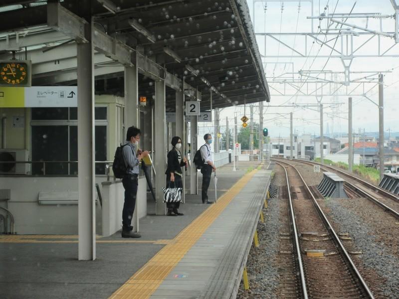 2021.6.16 (8) 高蔵寺いきふつう - 北岡崎(きたおかざき) 1600-1200