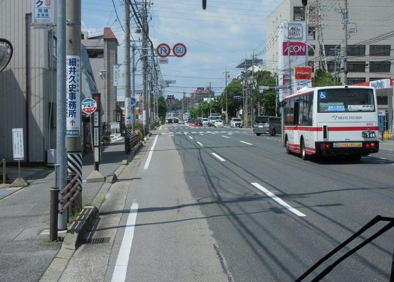 2021.6.17 (30) 滝団地いきバス - 戸崎町バス停 1590-1140