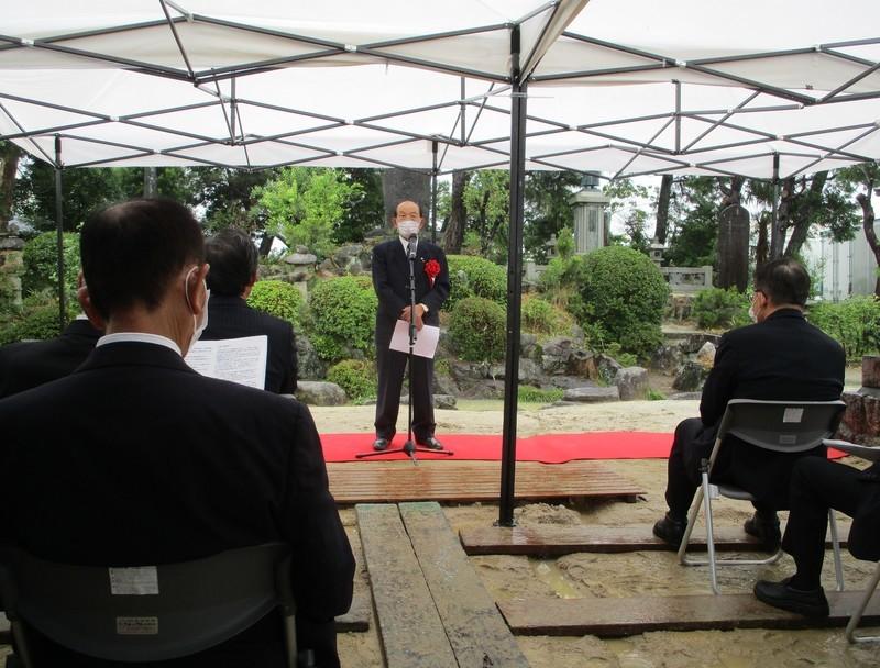 2021.6.19 岡本兵松翁生誕200年記念式典 (5) 1580-1200