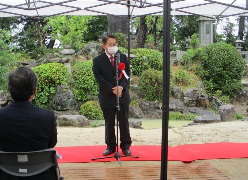 2021.6.19 岡本兵松翁生誕200年記念式典 (6) 1600-1160