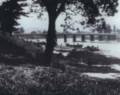 写真1)1927年ごろの殿橋下流の舟運のようす 430-340