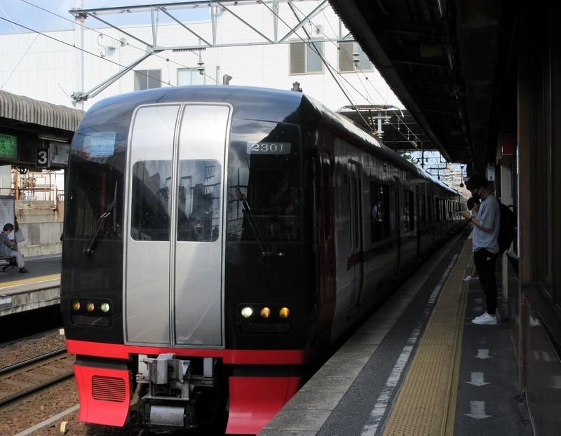 2021.7.20 (16) 東岡崎 - 新鵜沼いき快速特急 1530-1190