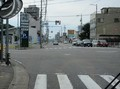 2021.7.27 (143) 東岡崎いきバス - 伊賀町交差点を左折 1590-1180