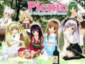 6月のピクニック pixiv投稿絵