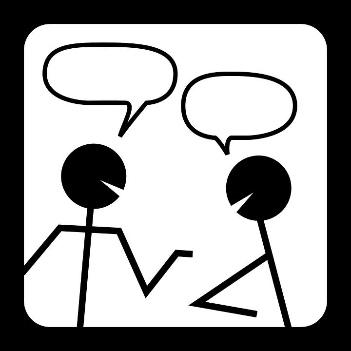 会話イラスト
