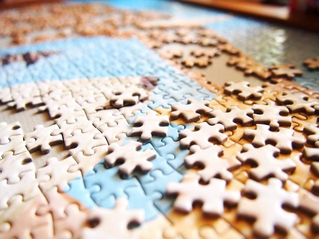 趣味でジグソーパズル