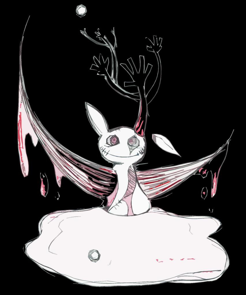 観覧注意】僕の描いたキモいグロイ不安になる怖いイラスト集 - 前向きな