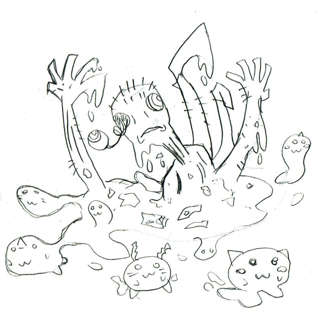 ゾンビのイラスト
