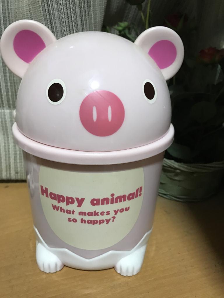 豚のゴミ箱