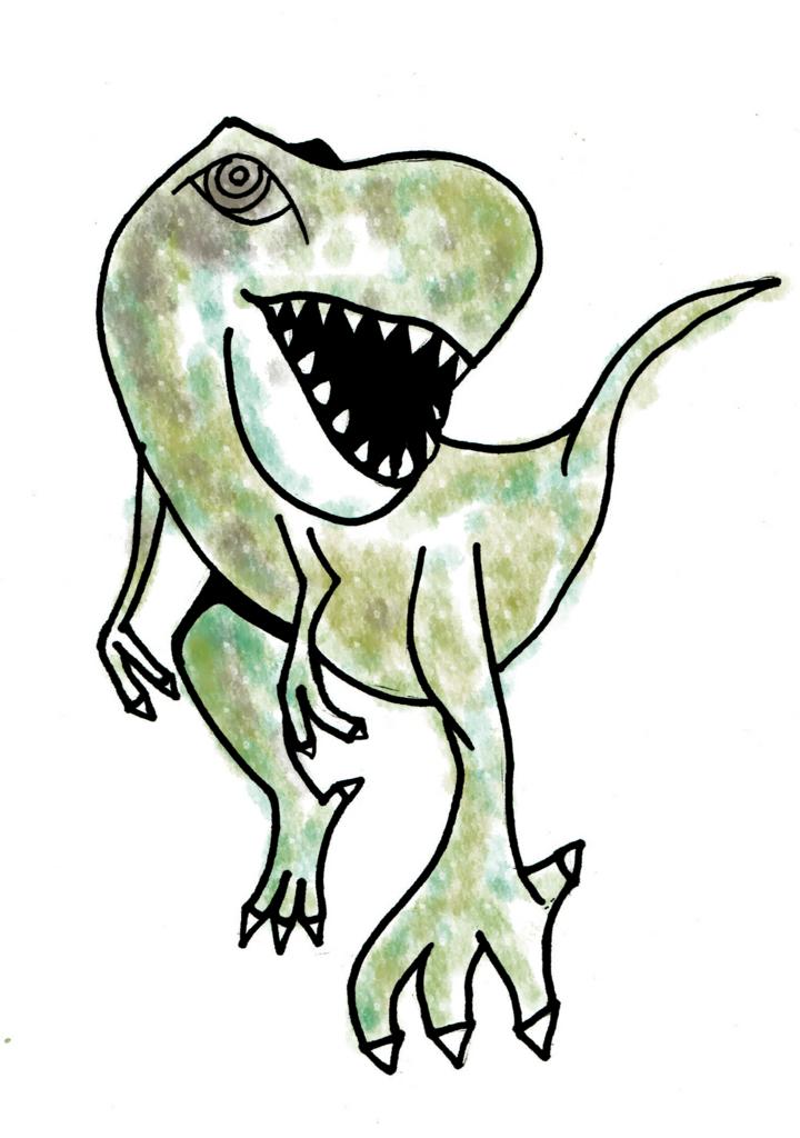 ティラノサウルスイラスト