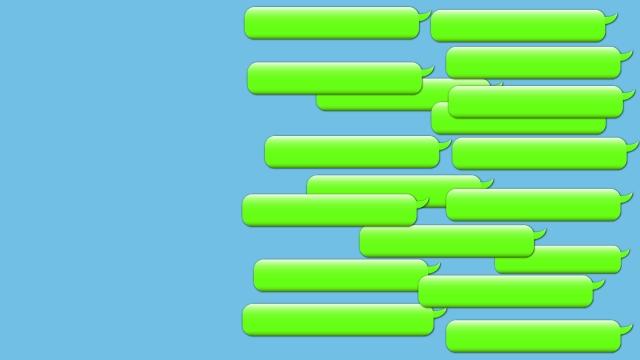 会話がいっぱい