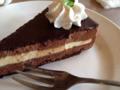 アールグレイチョコレートケーキ