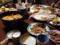 お祭り仕様の晩飯