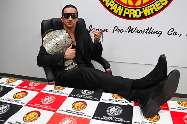 新日本プロレスの新IWGPヘビー級チャンピオン、ジェイ・ホワイト