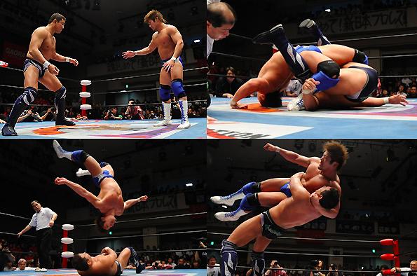 全日本プロレス、チャンピオンカーニバル決勝戦・永田 vs 真田