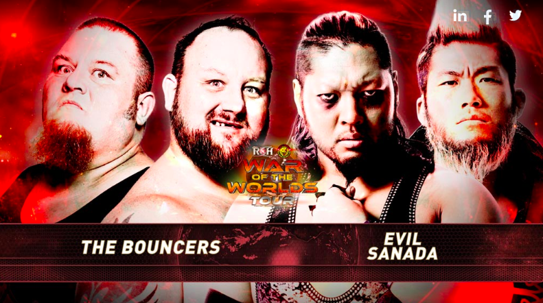 BOUNCERS VS EVIL&SANADA