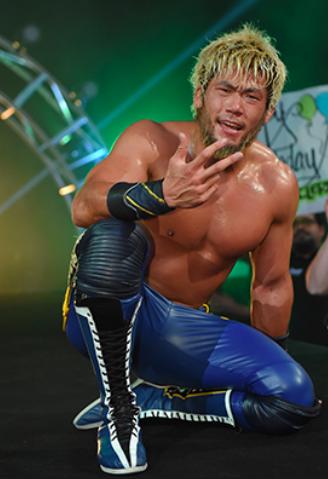 G1クライマックス29でザックに勝利したSANADA