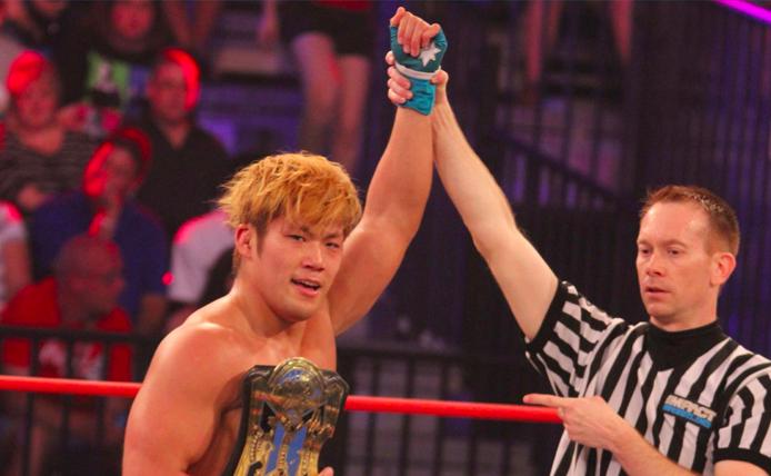 TNA、Xディビジョン王者の真田聖也