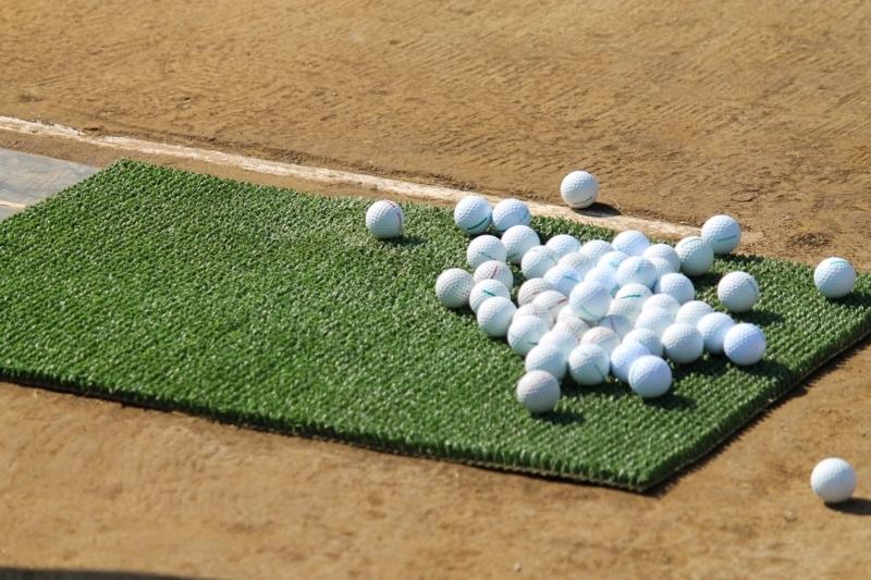 趣味のゴルフ練習