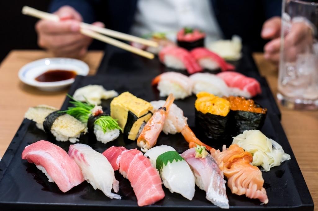グルメ趣味を楽しむ(寿司の画像)