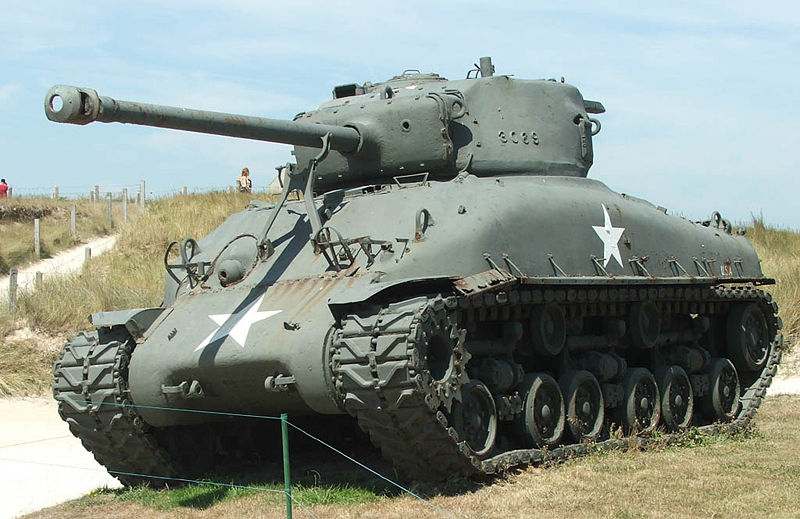 星柄の戦車