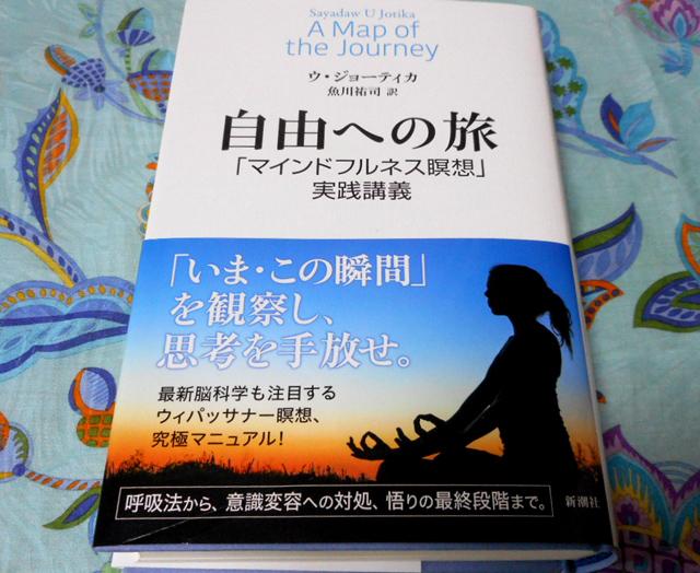 『自由への旅 「マインドフルネス瞑想」実践講義』 ウ・ジョーティカ