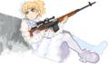 はてなハイカーさん、武器と女の子のイラスト欲しい!