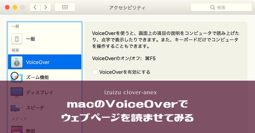 タイトル画像:macのアクセシビリティダイアログボックスの背景の上に記事タイトル名