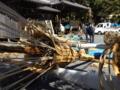 京都新聞写真コンテスト 鞍馬火祭り準備2