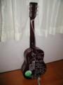 北海道に連れて行ったミニギター・裏面