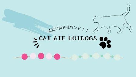 2021年間違いなく来るバンド「CAT ATE HOTDOGS」