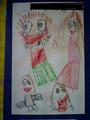 画伯5歳の作品その2:家族の肖像