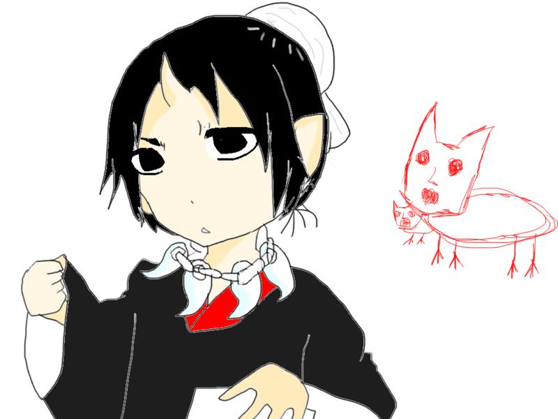 なんだっけ・・・白澤さんの猫((