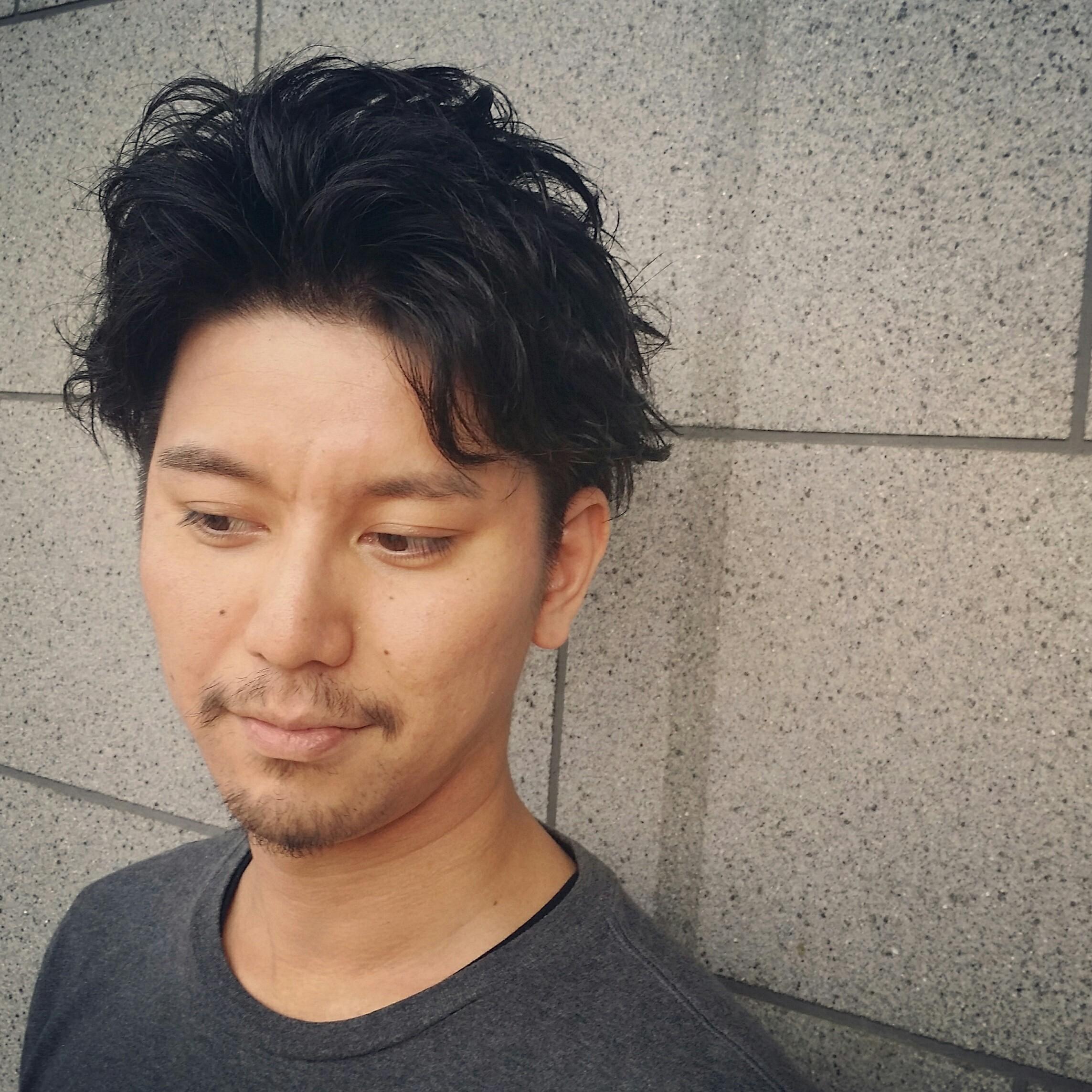 直毛】直毛の男性・必見!失敗しない、髪質コントロールパーマ