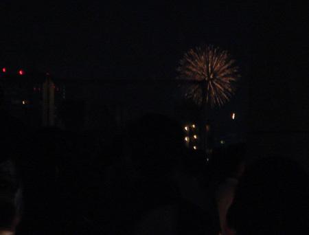 東京湾の花火