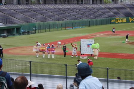 [長野][オリンピックスタジア][信濃グランセローズ][群馬ダイヤモンドペガ][野球]