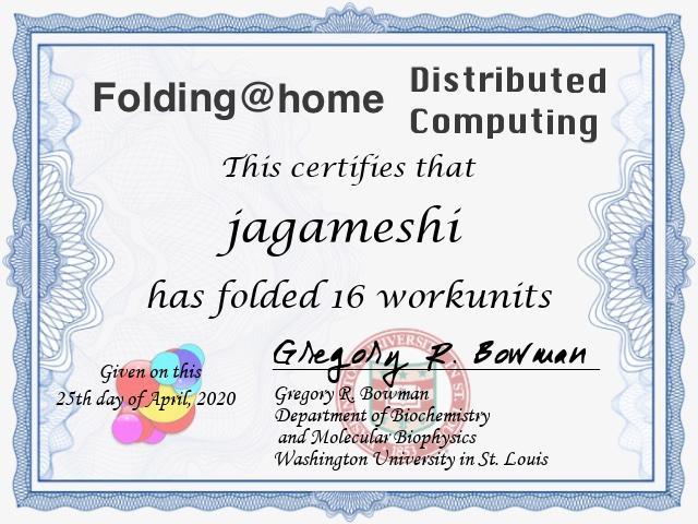 Folding@home result