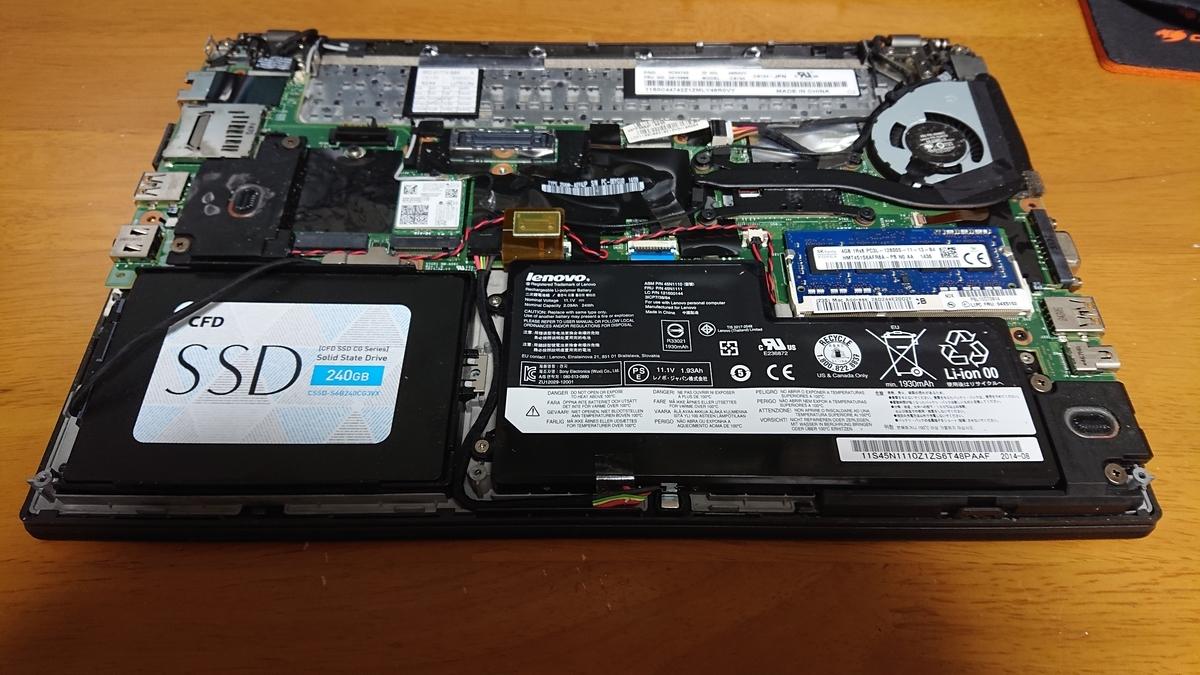 Thinkpad X240 SSD