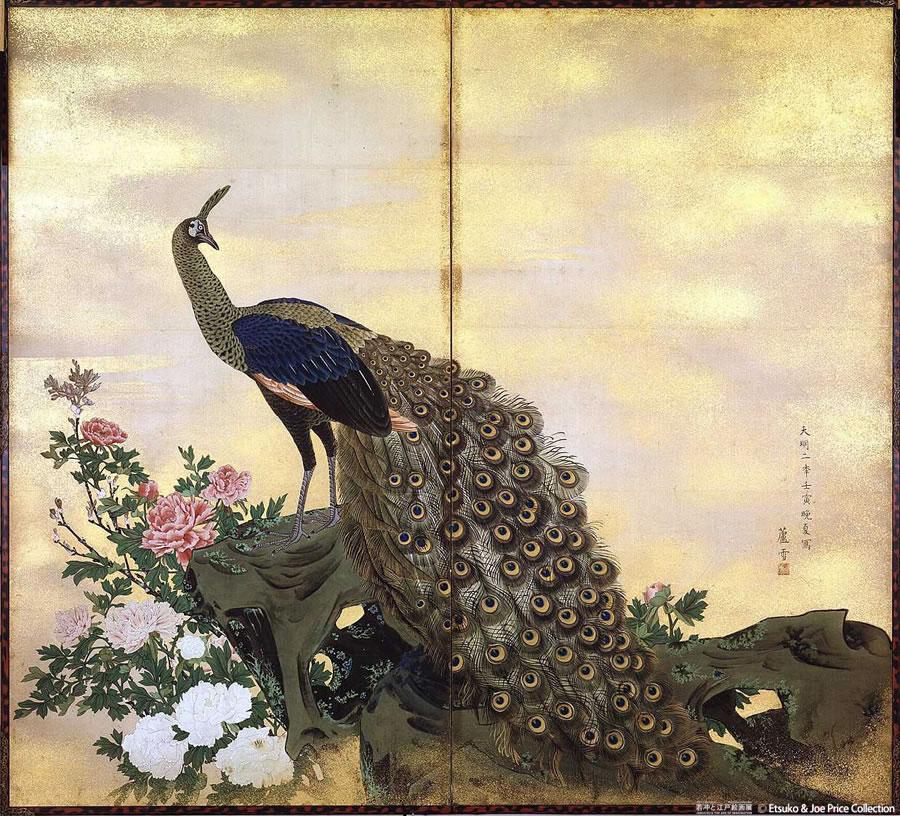 【画家】伊藤若冲の作品壁紙画像 : 伊藤若冲の繊細な美しい画 ...