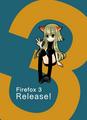 [ブラウザ擬人化]Firefox3 Release!