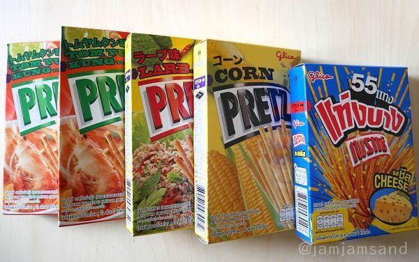 タイ 定番土産 プリッツ