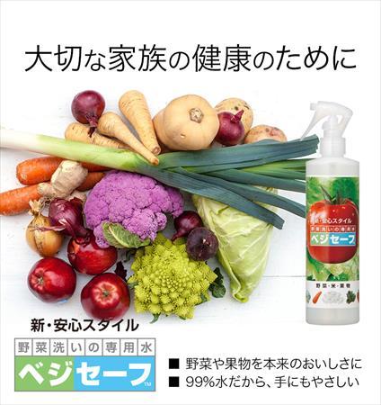 ベジセーフで野菜を洗って食べる健康習慣!野菜を洗える洗剤をご存知ですか?:chiefukuro.com:20160407144420j:plain