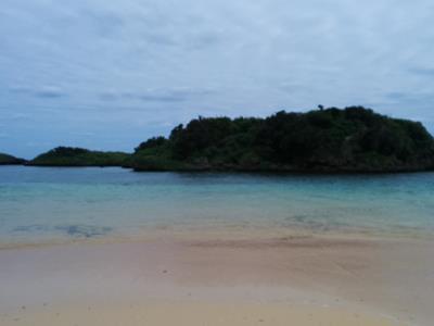 西表島星の砂浜